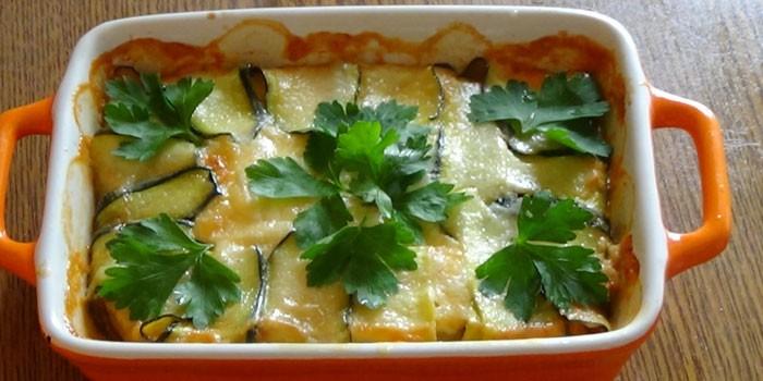блюда из цветной капусты и кабачков в духовке