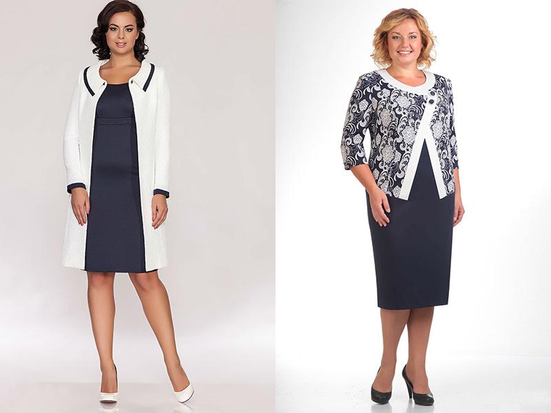 Классическая Одежда Для Полных Женщин Фото